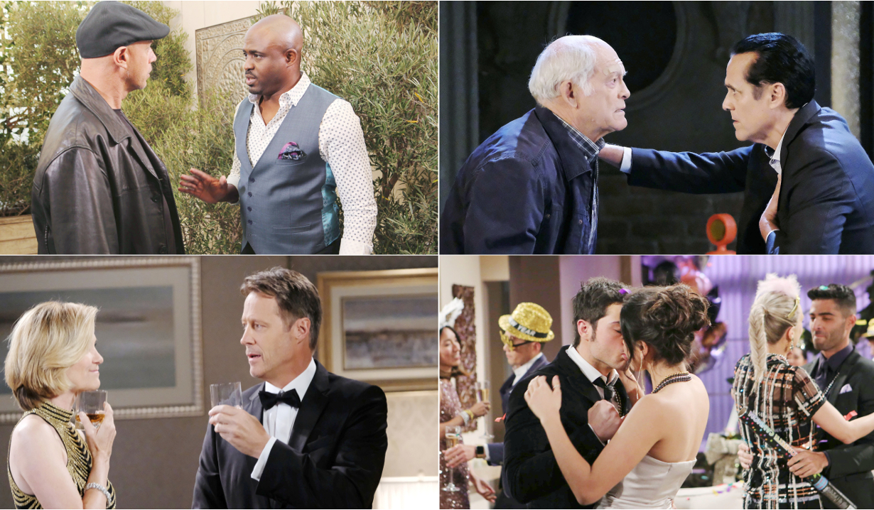 Recce, Sonny and Mike, Jack and Eve, Lola and Kyle Soap spoilers