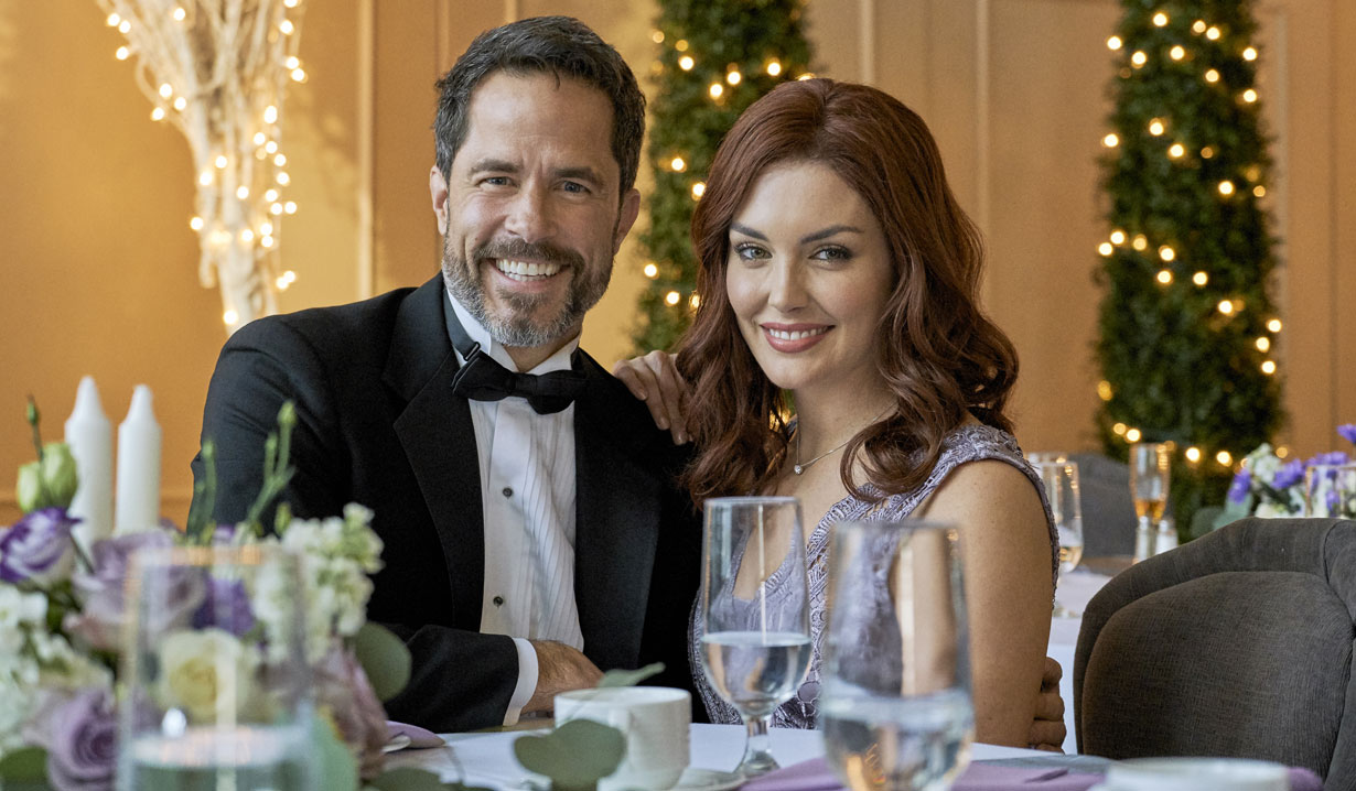 shawn christian and taylor cole in new hallmark mystery series
