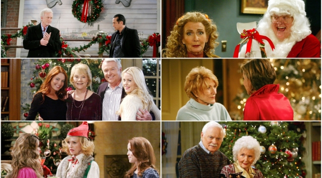 christmas past on the soaps