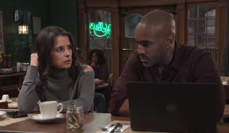 Curtis and Sam talk about her case GH