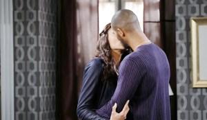 eli and lani kissing