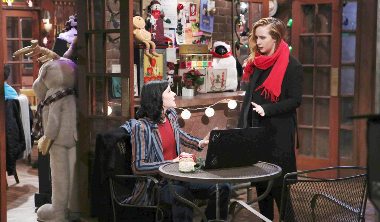Christmas with Tessa and Mariah