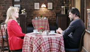marlena and eric discuss telling holly nicoles dead