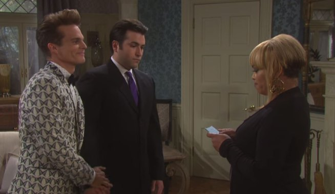 Sheila's marrying Leo and Sonny