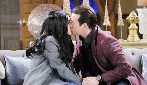 stefan kisses abby thinking she's gabby