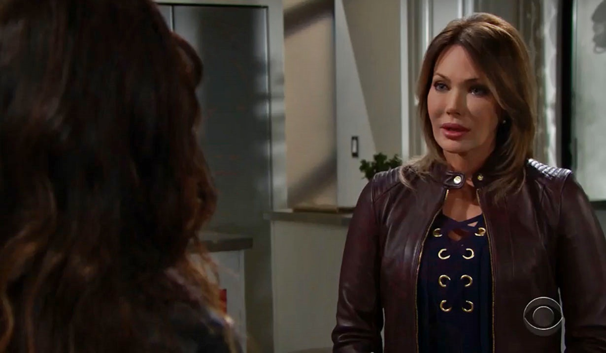 taylor urges steffy to adopt