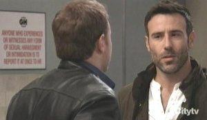 Hank tells Drew about their past GH