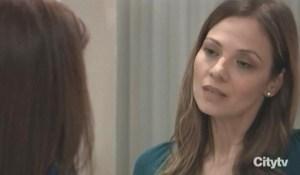 Kim tells Liza bout splitting with Julian GH