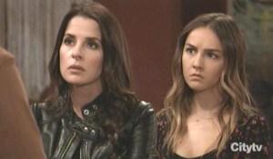 Sam and Kristina hear Daisy's confession GH
