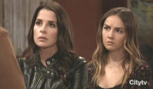 Sam and Kristina hear Daisy's confession GH