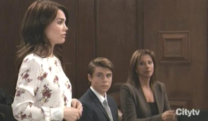 Liz speaks at Cameron's hearing GH