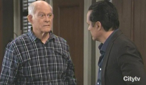 Mike and Sonny discuss his living situation GH