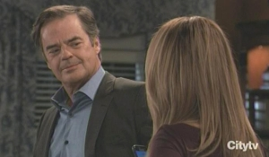 Olivia and Ned wait for election results GH