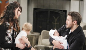 steffy kelly liam baby moment