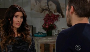 steffy visit with liam