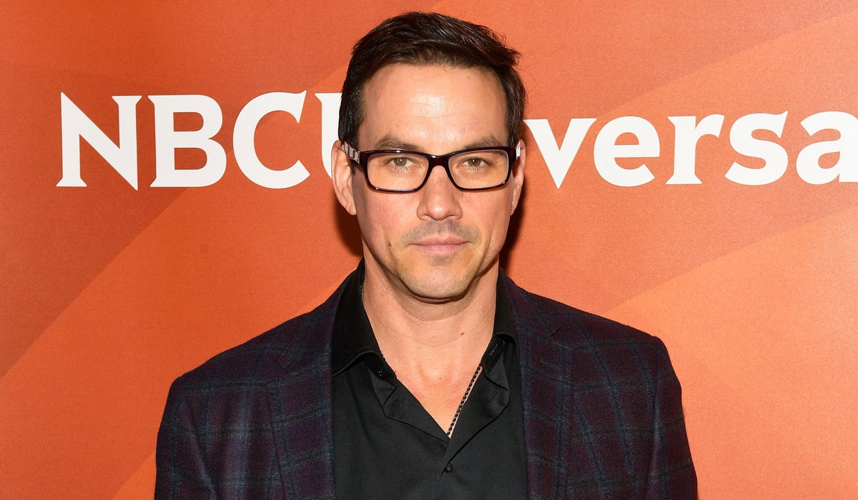 Tyler Christopher tapes creepy scene in new film