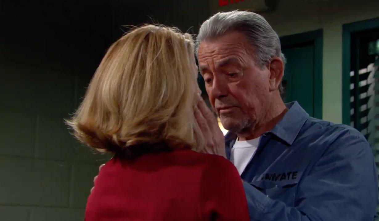 Victor urges Nikki to keep quiet