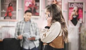 zoe talks to reese phone