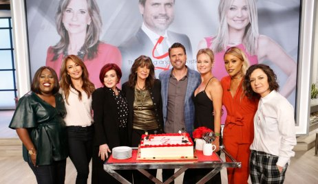 Y&R Cast on The Talk