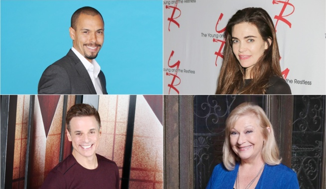 Bryton James Amelia Heinle Christian LeBlanc Beth Maitland co-star quiz