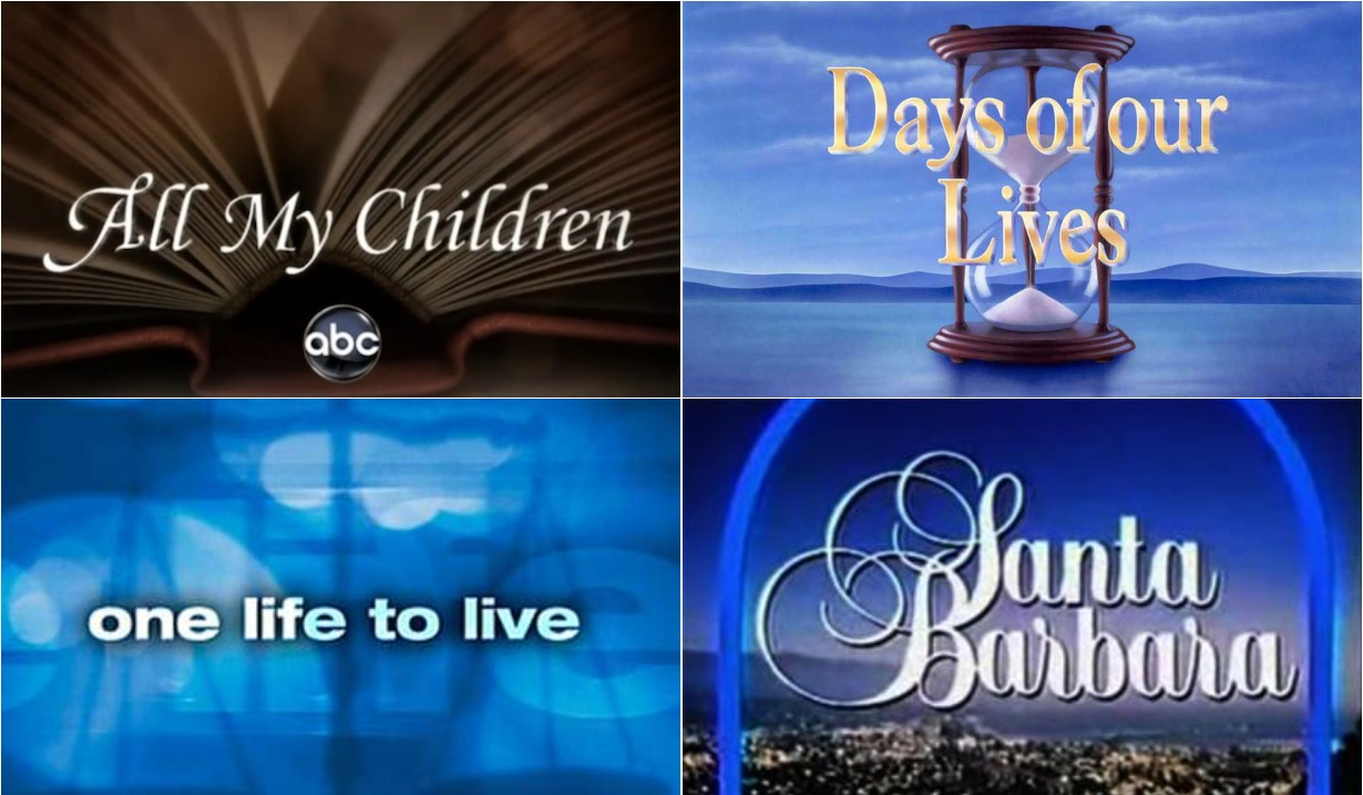 oltl amc days and santa barbara soaps