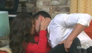 ben and ciara kissing