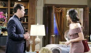 gabi vs stefan at dimera house