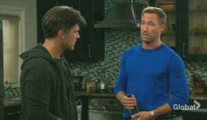 rex and eric discuss sarah's retaliation