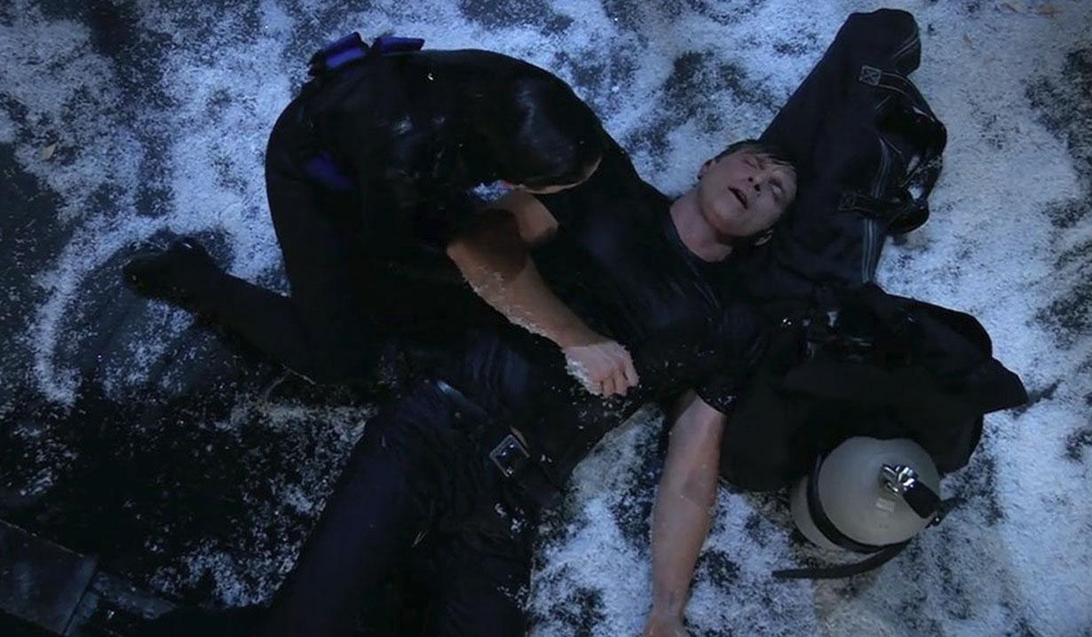 Sam rescues Jason
