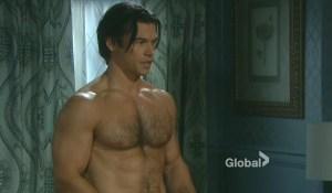 shirtless xander