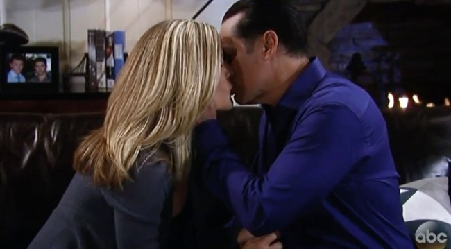 GH's Sonny and Carly kiss on Valentine's Day 2018