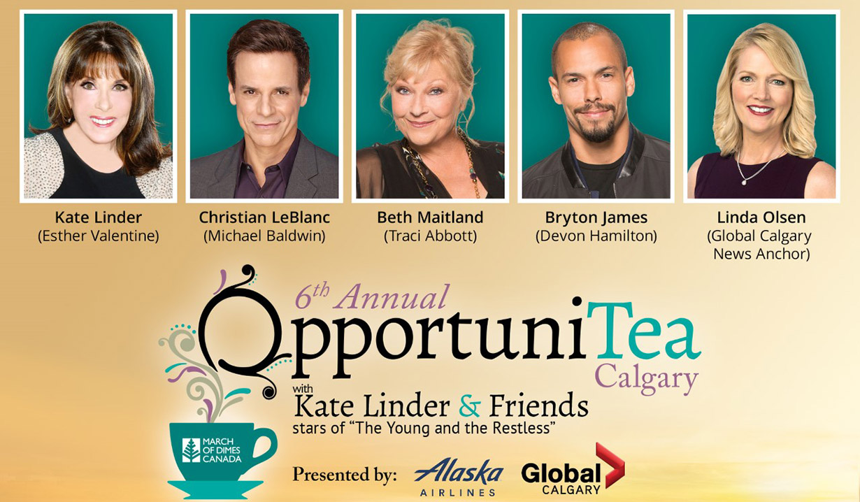 Kate Linder's 6th Annual OpportuniTea