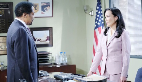 abe and melinda discuss business spd