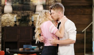 tripp kisses claire at home