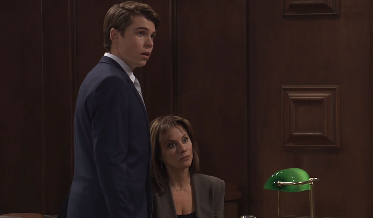 Cameron hears the verdict in his case GH