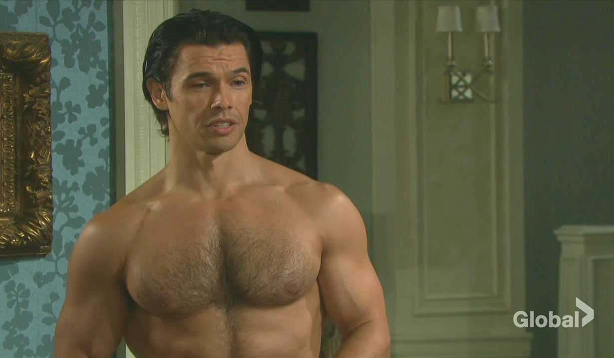 xander shirtless