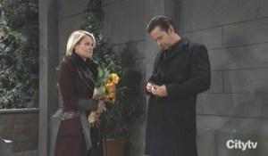 Ava and Franco visit Kiki's grave GH