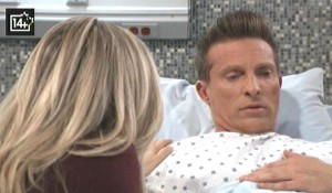Jason wakes up with Carly GH