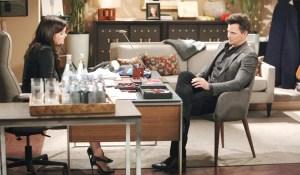 Katie talks to Wyatt