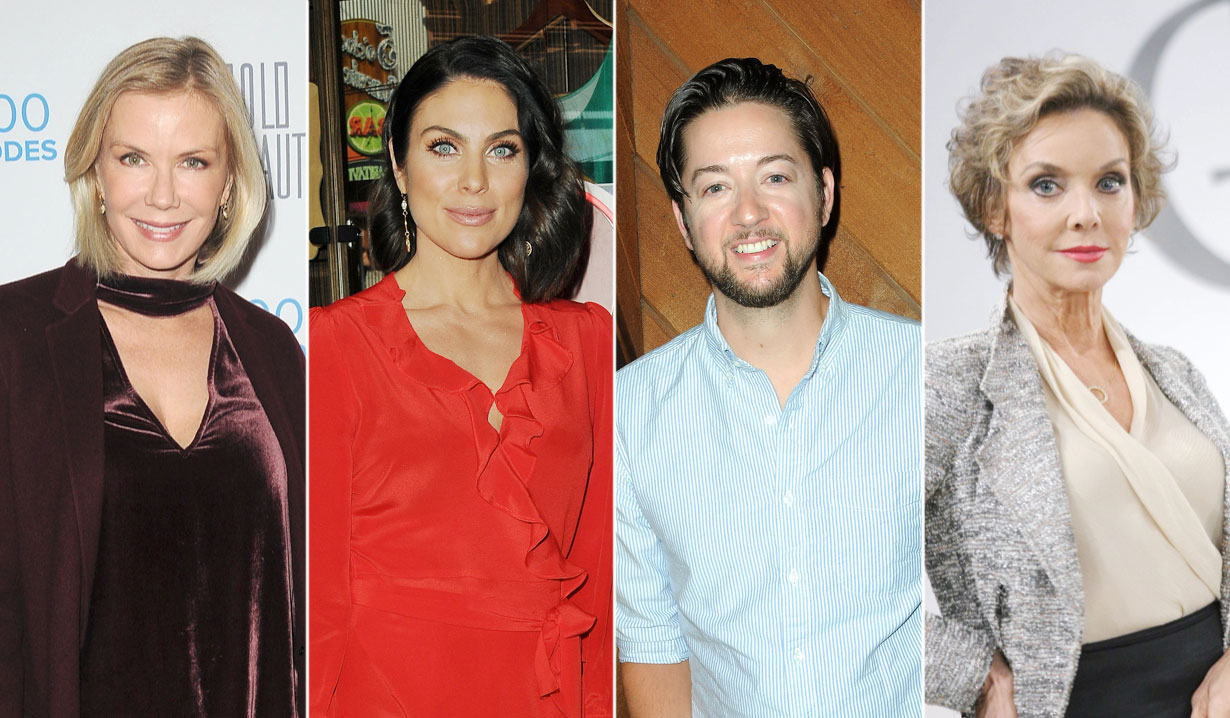 Image: January's Comings and Goings on Soaps
