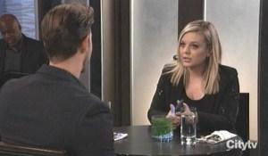 Maxie and Peter talk Sasha GH
