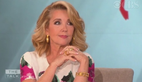 Melody Thomas Scott on the Talk