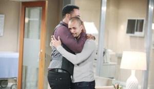Neil Devon embrace