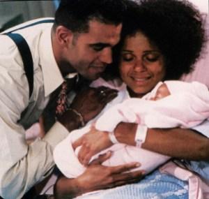 Neil Drucila Lily's birth