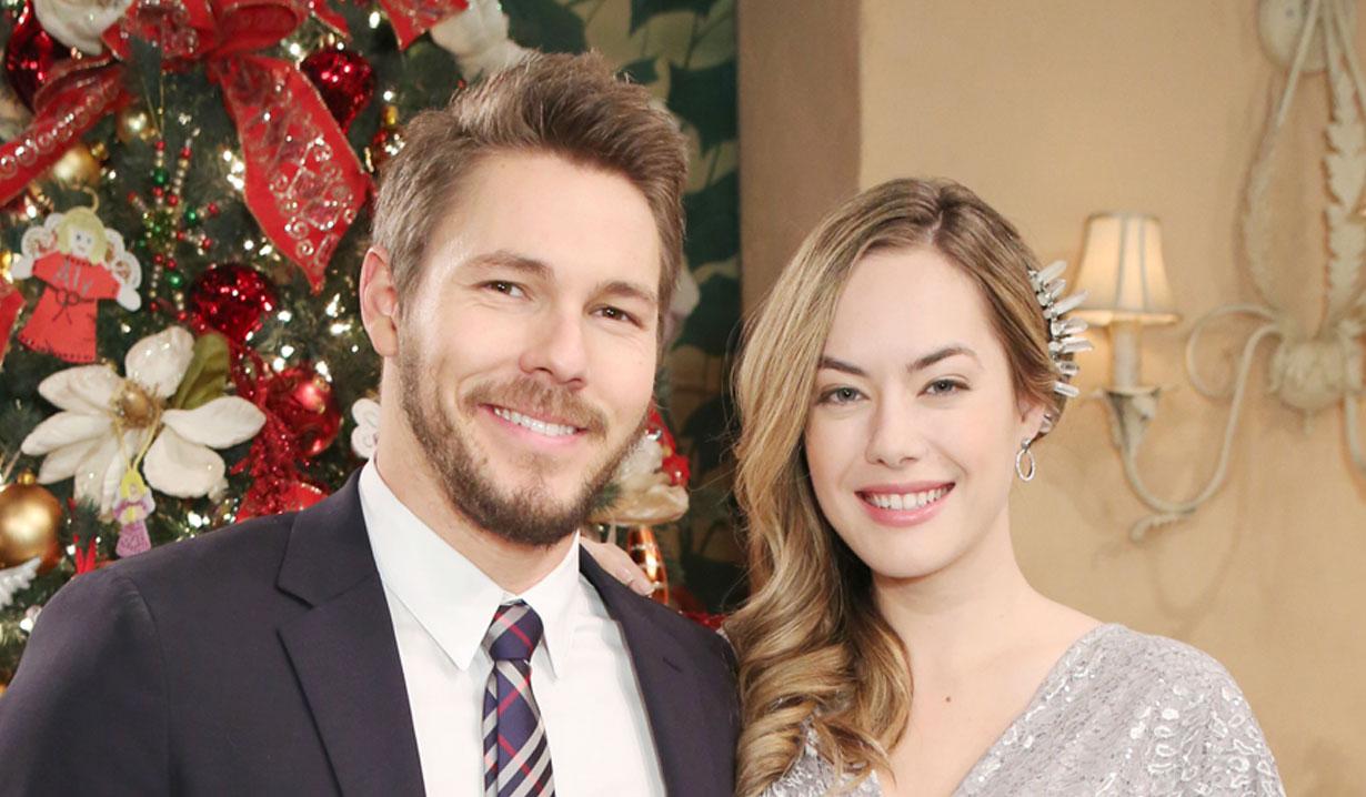 Scott Clifton and Annika Noelle