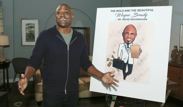 wayne brady has wrapped his b b role the bold and the beautiful message board. Black Bedroom Furniture Sets. Home Design Ideas