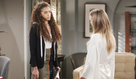 Zoe confronts Flo
