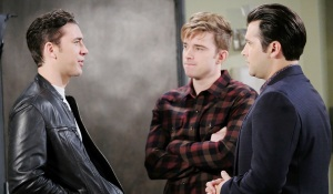 chad tells will and sonny he's moving