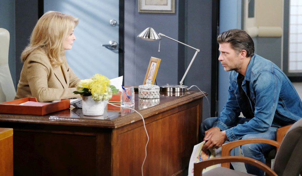 eric confides feelings for sarah to marlena