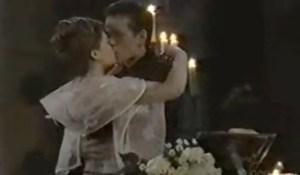 Elizabeth kisses Lucky on Valentine's Day